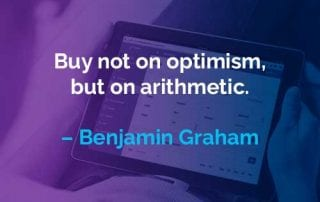 Kata-kata Motivasi Benjamin Graham Bukan Pada Optimisme - Finansialku