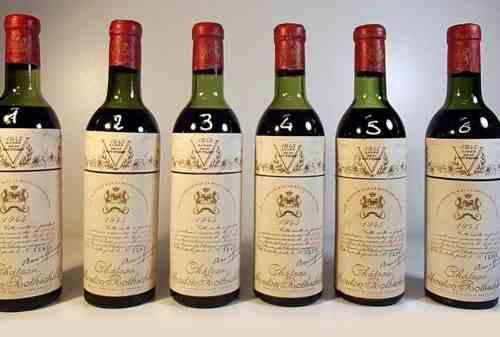 10 Wine Termahal Di Dunia yang Bikin Melongo! Jeroboam of Chateau Mouton Rotschild