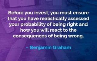 Kata-kata Motivasi Benjamin Graham Sebelum Berinvestasi - Finansialku