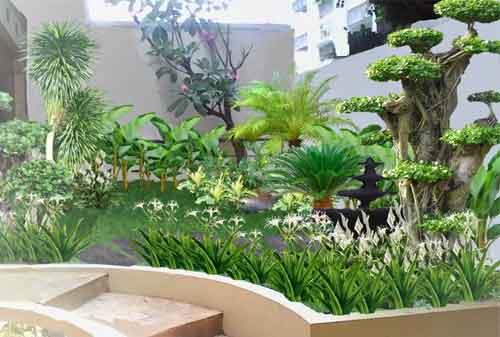 10 Inspirasi Taman Minimalis Sederhana Untuk Lahan Kecil (Part 2) 01 - Finansialku