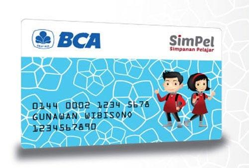 Kartu SimPel BCA - Finansialku