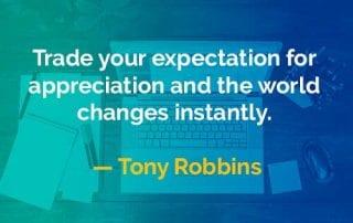 Kata-kata Bijak Tony Robbins Perdagangkan Ekspektasi - Finansialku