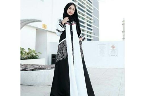 6 Model Gamis Batik Keren Dan Elegan Pasti Suka