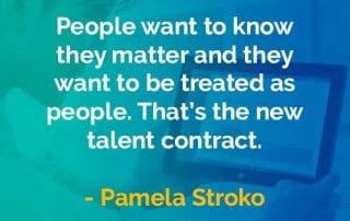 Kata-kata Bijak Pamela Stroko Diperlakukan Sebagai Manusia - Finansialku