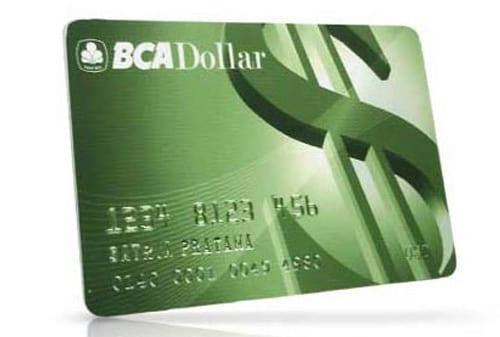 Kartu ATM BCA Dollar - Finansialku