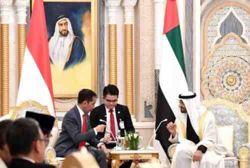 Jokowi Bawa Pulang Rp315 Triliun dari Abu Dhabi 01
