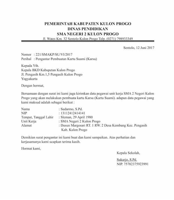 7 Contoh Surat Pengantar Untuk Berbagai Keperluan 03 Surat Pengantar Dinas - Finansialku
