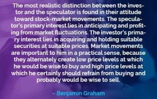 Kata-kata Motivasi Benjamin Graham Investor dan Spekulan - Finansialku