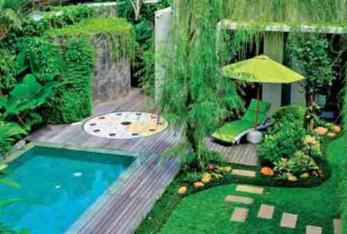 Bikin Betah, 10 Desain Kolam Renang Minimalis di Rumah Anda 09