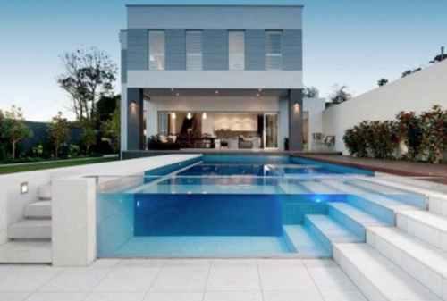 Bikin Betah, 10 Desain Kolam Renang Minimalis di Rumah Anda 10