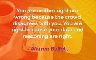 Kata-kata Bijak Warren Buffett Benar atau Salah - Finansialku