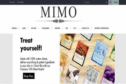 Belanjamimo (Mimo Beauty) Tempat Belanja Kosmetik Online 01