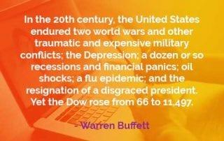 Kata-kata Bijak Warren Buffett Dua Perang Dunia - Finansialku