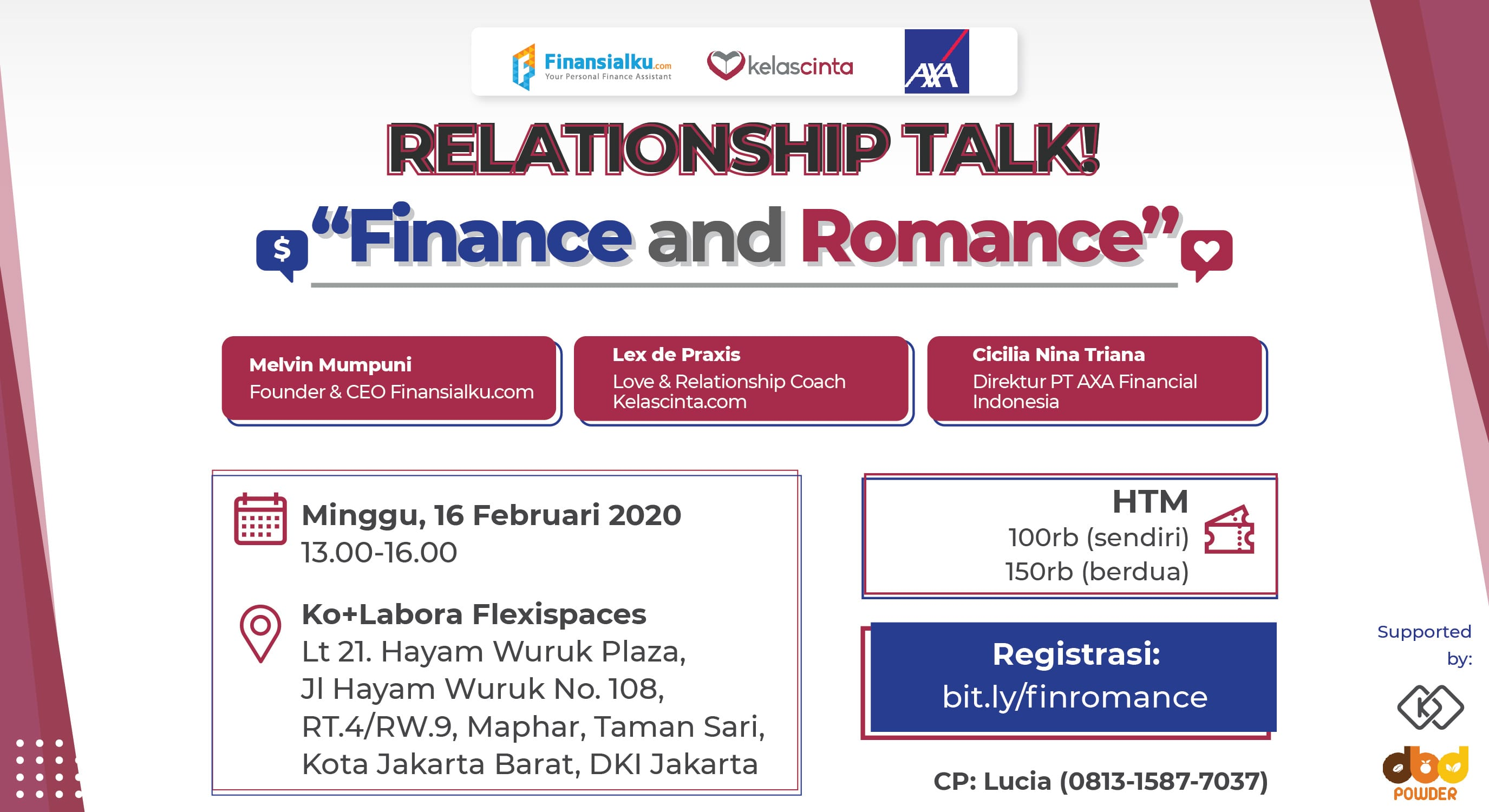 Banner Relationship Talk! Finance and Romance 660x360