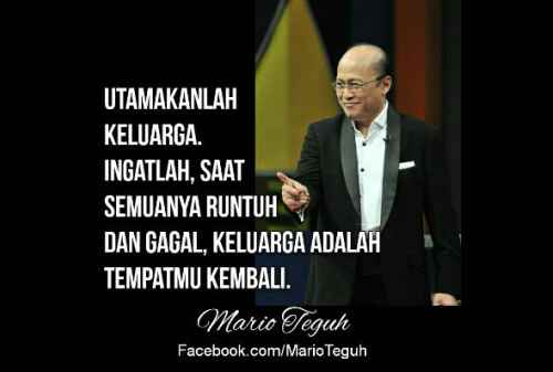 Kata-kata Bijak Mario Teguh Untuk Calon Orang Sukses 03 - Finansialku