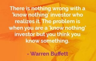 Kata-kata Bijak Warren Buffett Investor Tidak Tahu Apa-apa - Finansialku