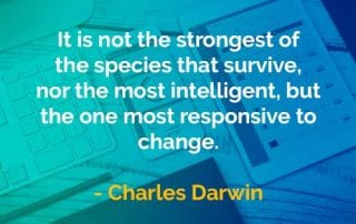 Kata-kata Bijak Charles Darwin Responsif Terhadap Perubahan - Finansialku
