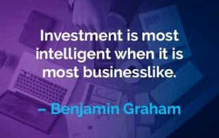 Kata-kata Motivasi Benjamin Graham Investasi paling cerdas ketika paling bersifat bisnis - Finansialku