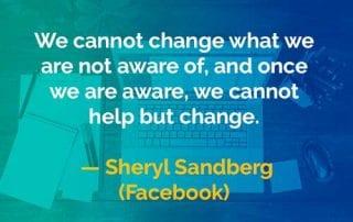 Kata-kata Bijak Sheryl Sandberg Mengubah Sesuatu - Finansialku