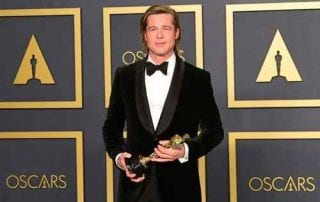 Menang Oscars 2020, Brad Pitt Bikin Kesal Warganet, WHY_ 01