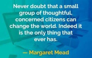Kata-kata Bijak Margaret Mead Mengubah Dunia - Finansialku