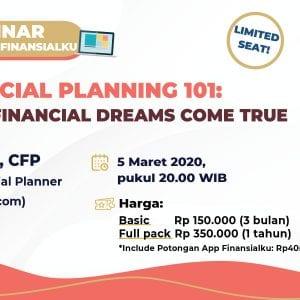 Masterclass Maret Financial Planning 101
