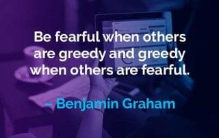 Kata-kata Motivasi Benjamin Graham Takut dan Serakah - Finansialku