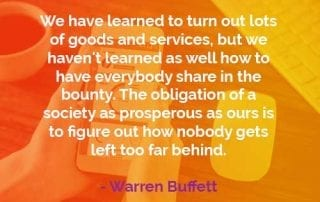 Kata-kata Bijak Warren Buffett Kewajiban Masyarakat Sejahtera - Finansialku