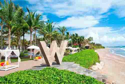 Sensasi Liburan di W Hotel Bali, Hotel Mewah Idola Para Selebriti 01