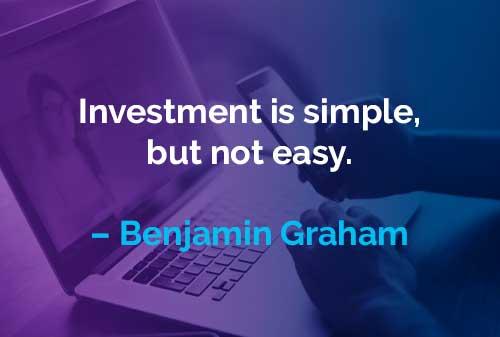 Kata-kata Motivasi Benjamin Graham Investasi itu Sederhana - Finansialku