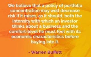 Kata-kata Bijak Warren Buffett Kebijakan Konsentrasi Portofolio - Finansialku