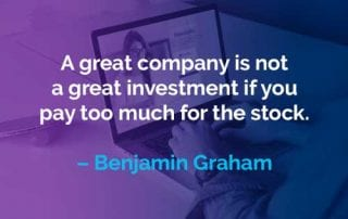 Kata-kata Motivasi Benjamin Graham Perusahaan Hebat - Finansialku