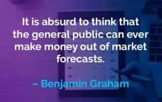 Kata-kata Motivasi Benjamin Graham Menghasilkan Uang - Finansialku
