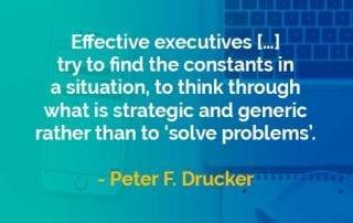 Kata-kata Bijak Peter Drucker Strategis dan Generik - Finansialku