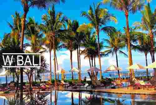 Sensasi Liburan di W Hotel Bali, Hotel Mewah Idola Para Selebriti 03