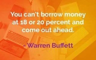 Kata-kata Bijak Warren Buffett Hindari Memiliki Utang - Finansialku