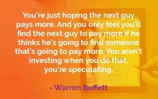 Kata-kata Bijak Warren Buffett Membayar Lebih - Finansialku