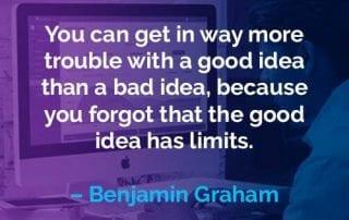Kata-kata Motivasi Benjamin Graham Ide yang Baik - Finansialku