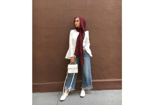 10 Tren OOTD Hijab 2020 Simpel, Kasual, Tetap Kece 01 - Finansialku