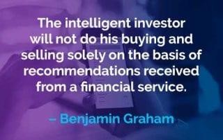 Kata-kata Motivasi Benjamin Graham Investor Cerdas - Finansialku