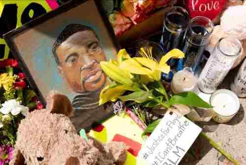Warga AS Demo Menuntut Keadilan Kematian George Floyd 03