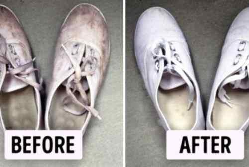 Cara Mencuci Sepatu Untuk Mengembalikan Warna Sepatu yang Pudar 02 - Finansialku