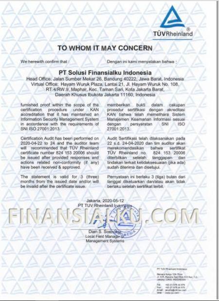 ISO 27001 Finansialku