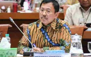 Menteri Kesehatan dr. Terawan 2