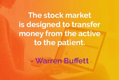 Kata-kata Bijak Warren Buffett Fungsi Pasar Saham - Finansialku