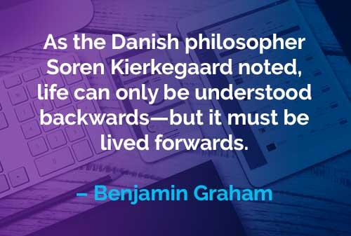 Kata-kata Motivasi Benjamin Graham Memahami Hidup - Finansialku