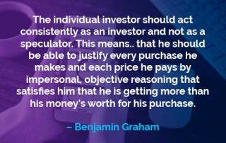 Kata-kata Motivasi Benjamin Graham Investor Perorangan - Finansialku