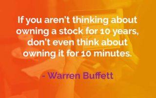 Kata-kata Bijak Warren Buffett Mindset Memiliki Saham - Finansialku