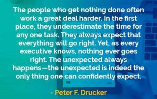 Kata-kata Bijak Peter Drucker Bekerja Lebih Keras - Finansialku