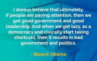 Kata-kata Bijak Barack Obama Memberikan Perhatian- Finansialku
